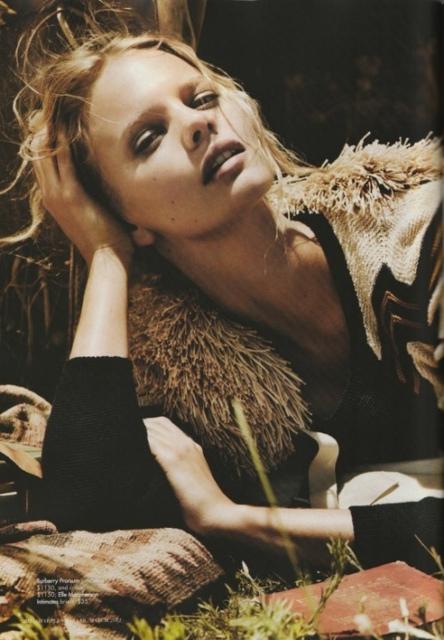 Will Davidson for Harpers Bazaar 2012