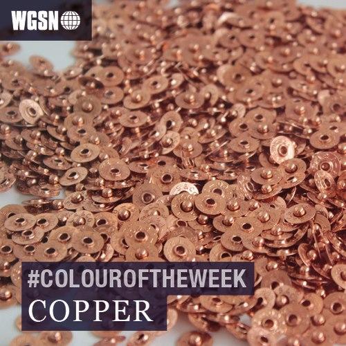 Copper for 2014/2015 A/W via WGSN