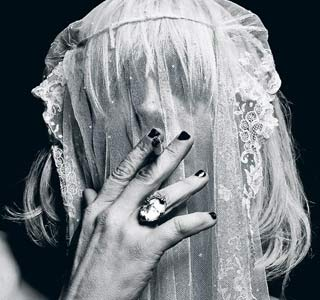 Courtney Love for Hedi Slimane