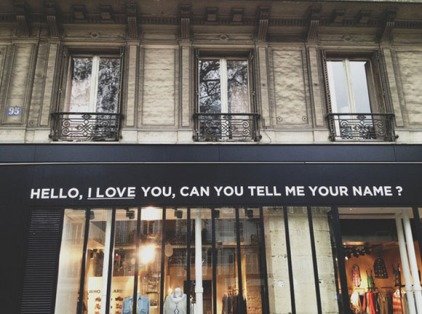 Paris shopwindow