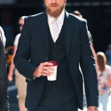 Justin O´Shea via the sartorialist