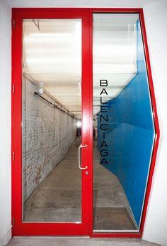 Balenciaga NY store