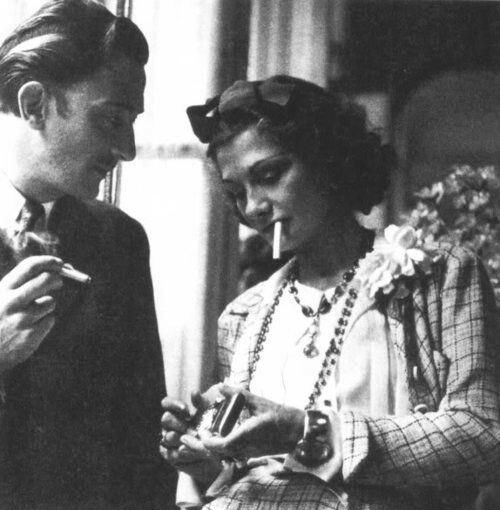 dali and chanel