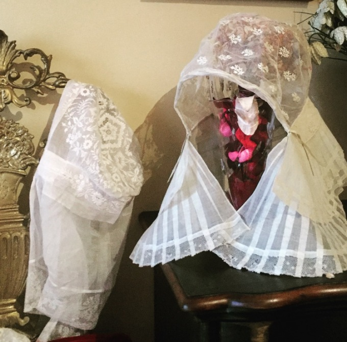 Gorros de novia S.XIX